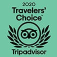 Trip Advisor Traveler's choice Award 2020 Badge
