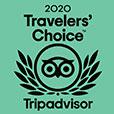 Trip Advisor Traveler's choice Award 2020 Badge