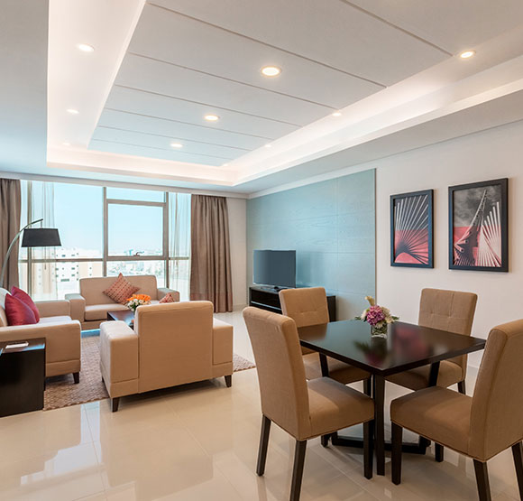 Deluxe One Bedroom Suite at Ramada Hotel & Suites Amwaj Islands