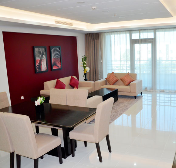 Ramada Hotel & Suites Amwaj Islands Two Bedroom Suite